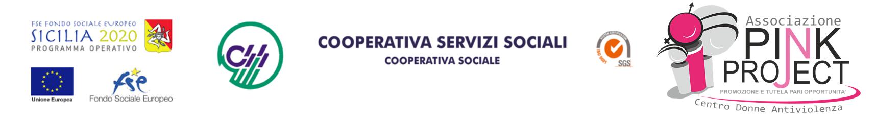 Fondo Sociale europeo 2020 - Associazione Pink Project -Cooperativa Servizi Sociali
